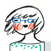 elylu portrait illustration doodle Eliane Mancera ilustración retrato