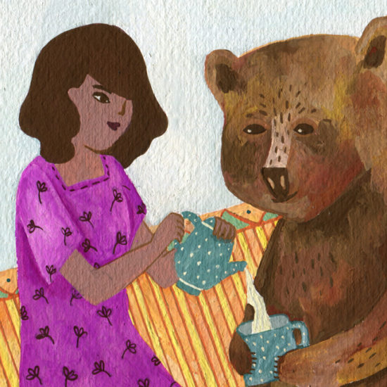 illustration, ilustración, México, Gouache